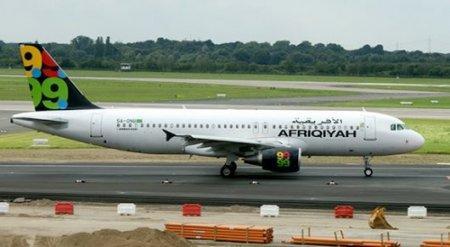 Захваченный самолет с 118 людьми на борту сел на Мальте
