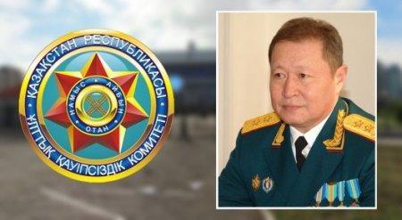 Задержан бывший председатель КНБ РК